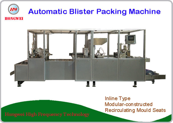 Tableware Automatic Blister Packing Machine Automatic Leftover Collection Function