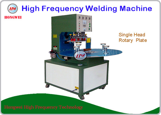 High Frequency Rotary Welding Machine With Single Head Rotary Table