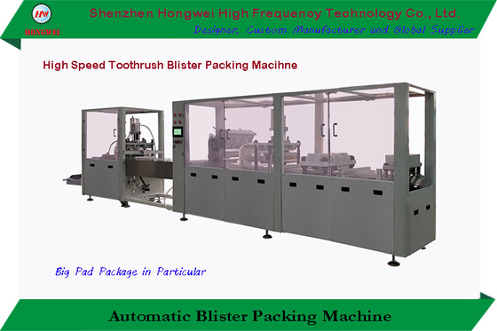 Touch Screen HMI Automatic Blister Sealing Machine Inline Modular Constructed 380V 50 Hz